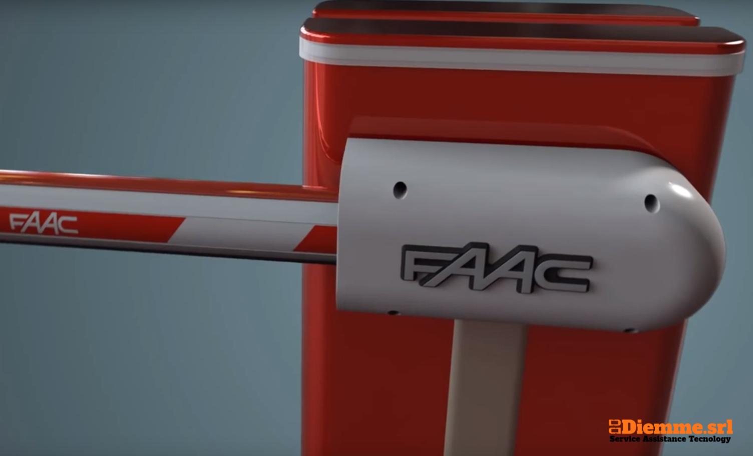 FAAC Roma centro assistenza ufficiale corpo barriera - riparazione barriere - barriera FAAC - fornitura barriera - barriera automatica FAAC
