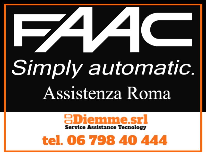 FAAC Roma centro assistenza ufficiale telefono