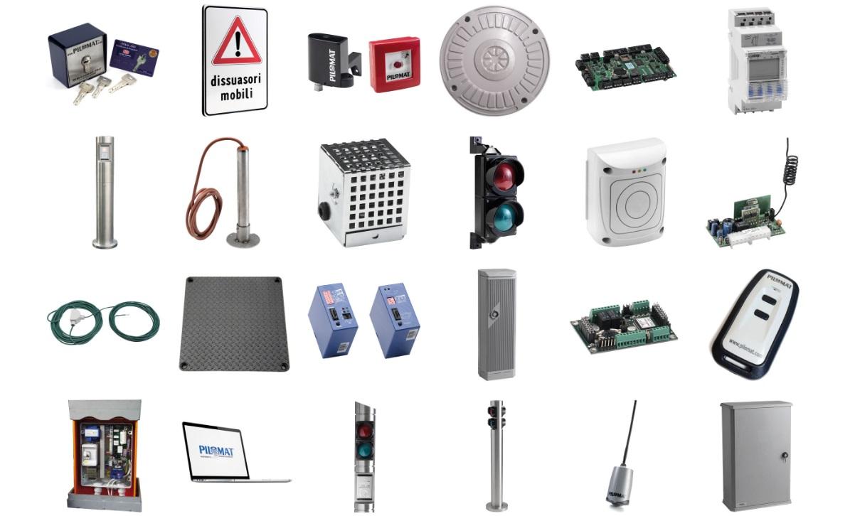Pilomat accessori installazione manutenzione roma costo prezzi pilomat dissuasori automatici torrette