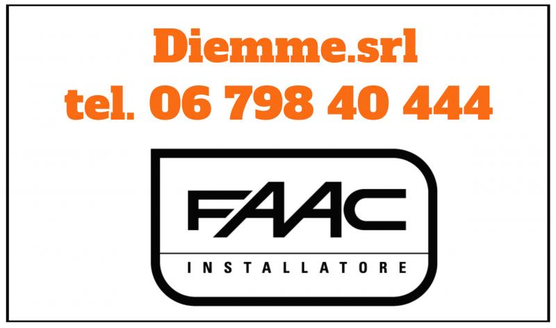 FAAC Roma - Automatismi ROMA - Cancelli automatici - riparazione - assistenza - installazione