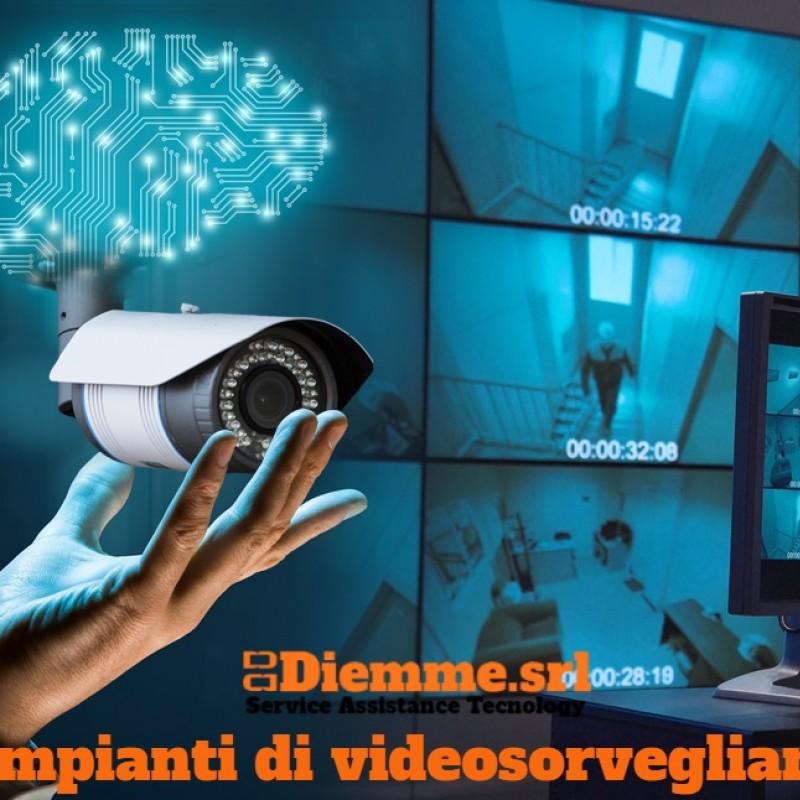 Impianti di videosorveglianza intelligente